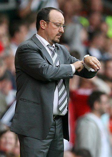 Rafa's siste kamp for Liverpool på Anfield ?
