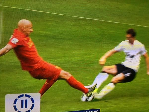 Shelvey vs. Evans