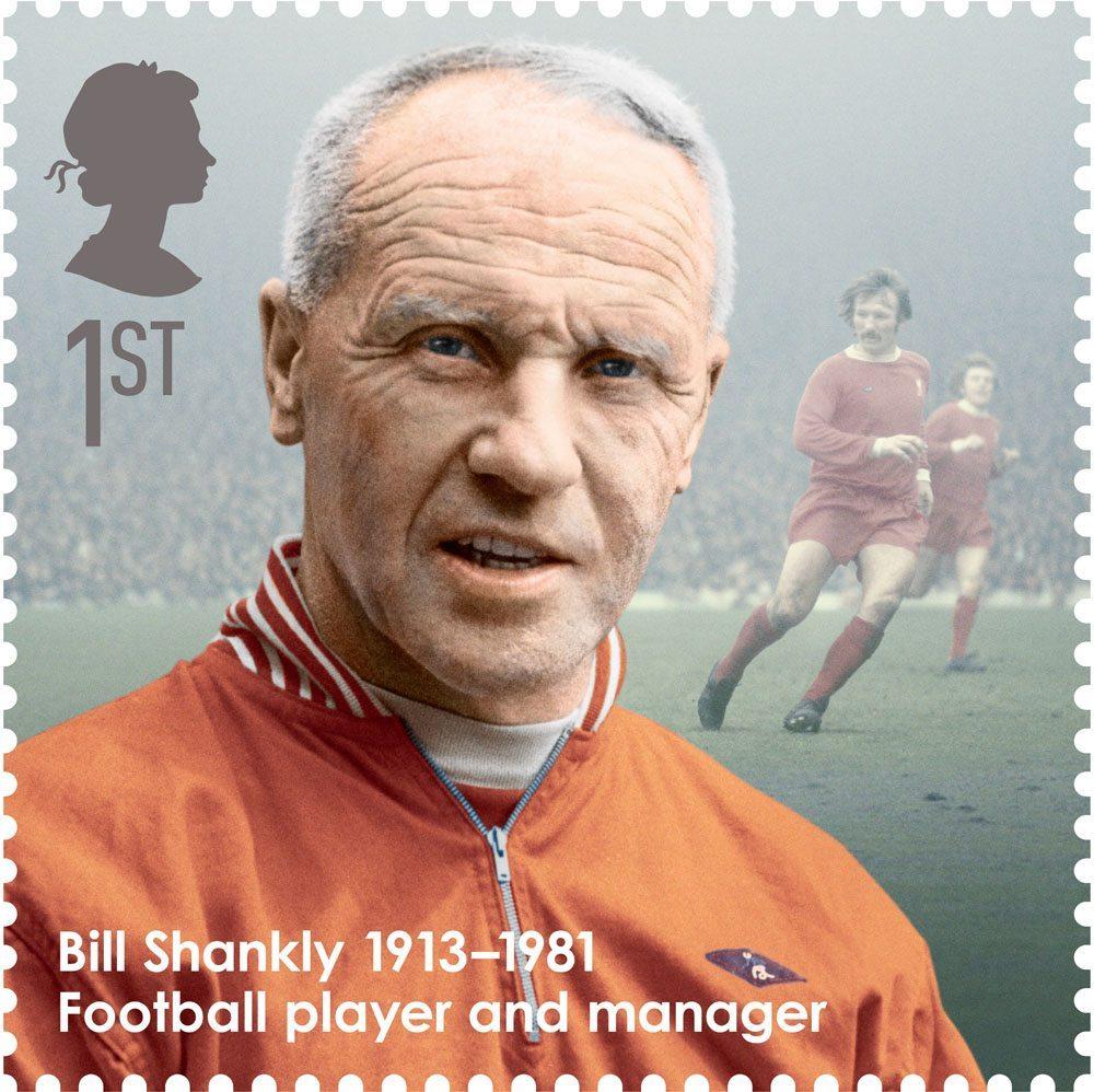 Bill Shankly | Frimerke