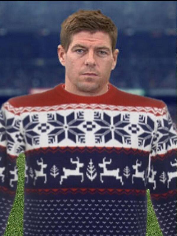 Steven Gerrard i ny Liverpools nye bortedrakt...