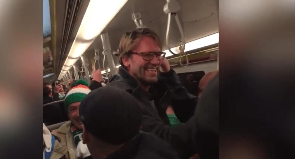 VIDEO: Jürgen Klopp lookalike hyllet av irske fans etter seier mot Østerrike...