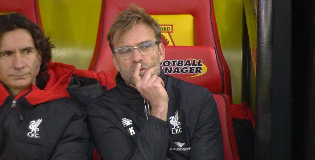 .. mens vi venter på Watford søndag... og et lite stikk til Manchester United fra Klopp..