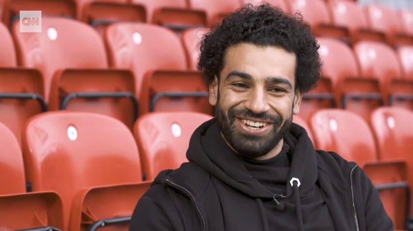CNN intervju med Mohamed Salah før Roma kampen...