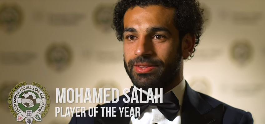 PFA Player of the Year: Mohamed Salah
