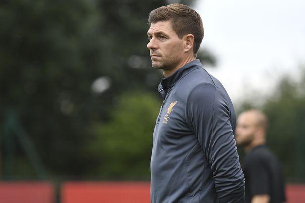 Gerrard ny manager i Rangers ?