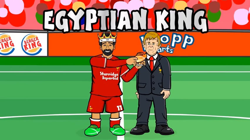 MO SALAH - EGYPTIAN KING (All 32 Goals Mohamed Salah song)