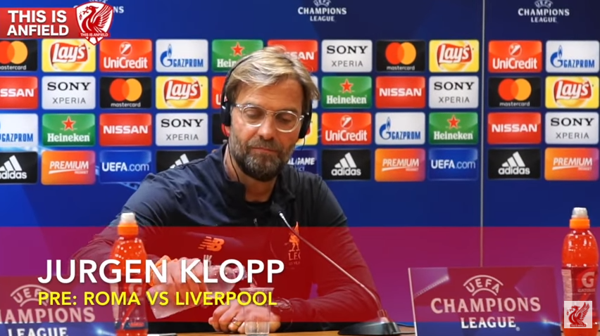 Jurgen Klopp Pre-Match Press Conference | Roma vs. Liverpool