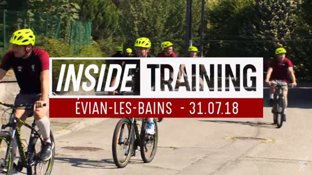 Inside Training: Første trening med Alisson m.m