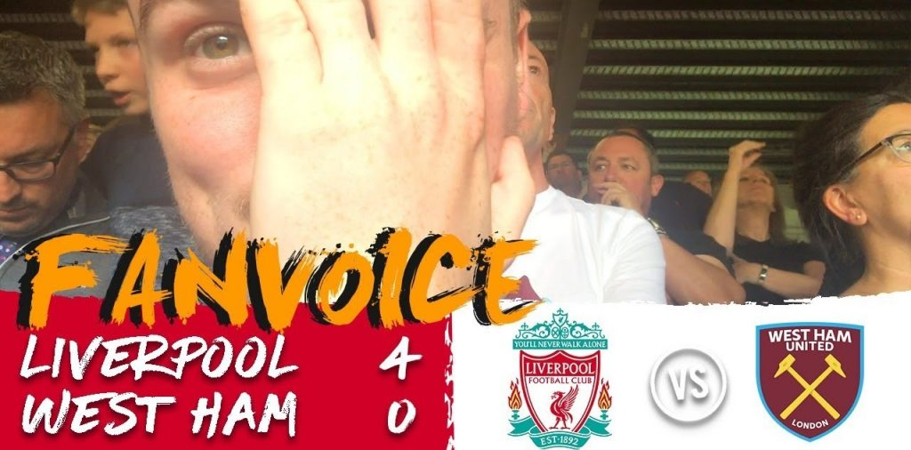 VLOG : Liverpool - West Ham (4-0) 12.08.18