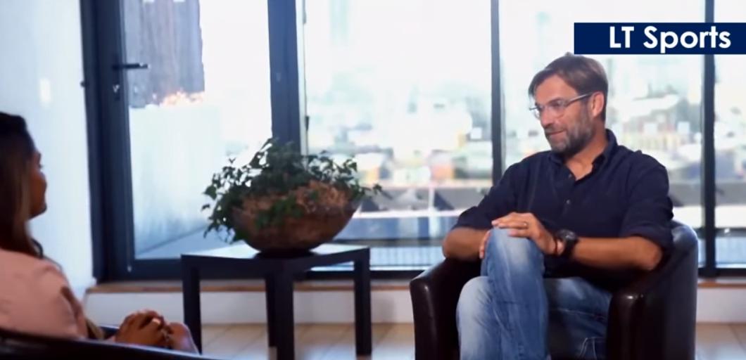 Eksklusivt intervju med Jürgen Klopp