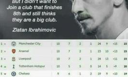 Right back at 'ya, Zlatan...
